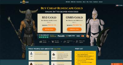 rsgoldpot website