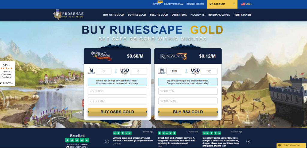 best rs gold site